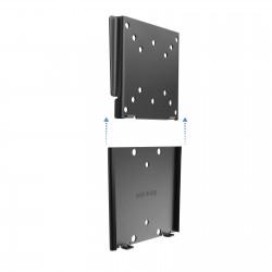 TooQ - SOPORTE ULTRA DELGADO PARA MONITOR / TV LCD PLASMA DE 10-23 NEGRO