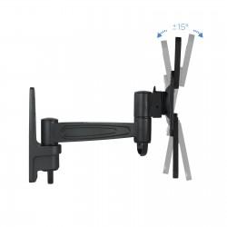 TooQ - SOPORTE GIRATORIO E INCLINABLE PARA MONITOR / TV LCD PLASMA 2 PIVOTES DE 10-32 NEGRO