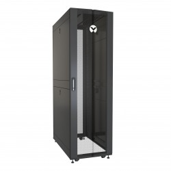 Vertiv - VR Rack VR3100 armario rack 42U Rack o bastidor independiente Negro Transparente