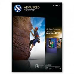HP - Q5456A papel fotogrfico A4 Negro Azul Blanco Brillo