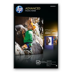 HP - Q8692A papel fotogrfico Negro Azul Blanco Brillo