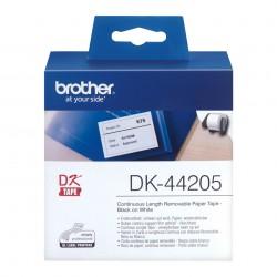 Brother - Cinta continua de pelcula plstica amarilla - DK-44205