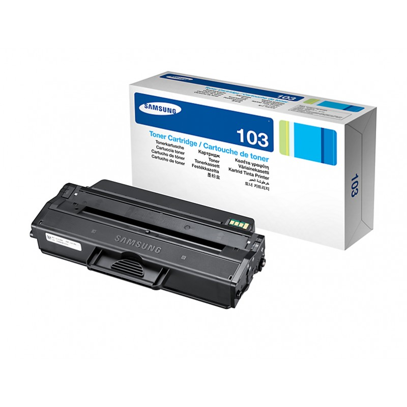 Samsung - MLT-D103S cartucho de tner Original Negro 1 piezas