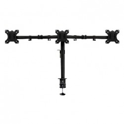 Ewent - EW1513 soporte para monitor 686 cm 27 Abrazadera/Atornillado Negro