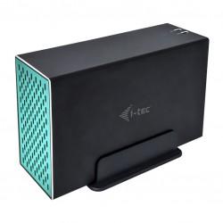 i-tec - CAMYSAFEDUAL35 caja para disco duro externo 35 Caja de disco duro HDD Negro