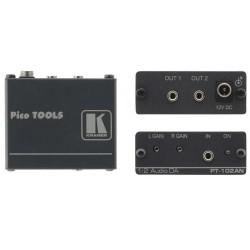 Kramer Electronics - PT-102AN amplificador de audio 20 canales Negro