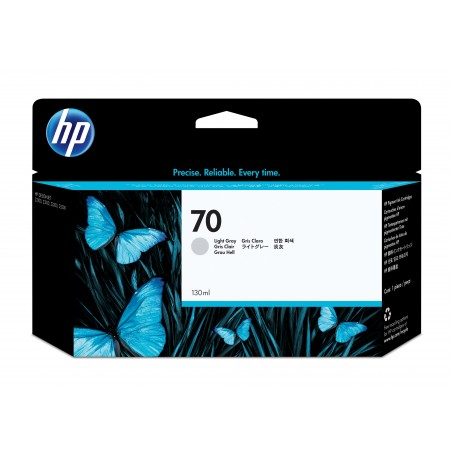 HP - 70 1 piezas Original Gris claro