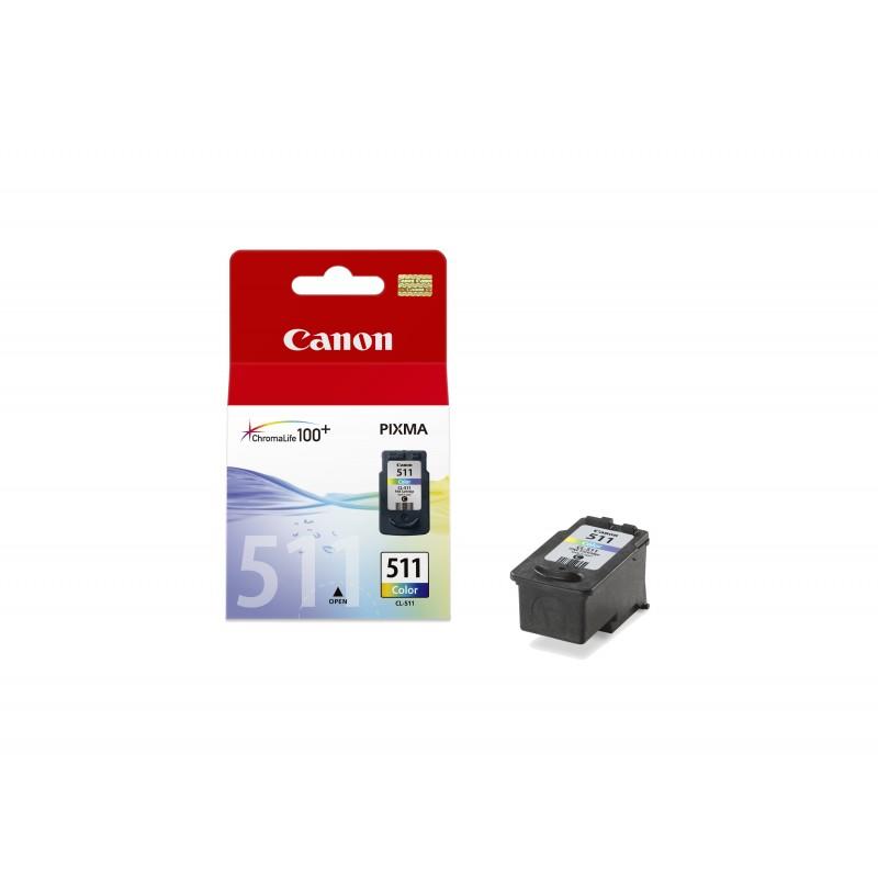 Canon - CL-511 Original Cian Magenta Amarillo 1 piezas