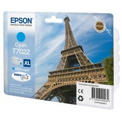 Epson - Eiffel Tower Cartucho T70224010 cian XL
