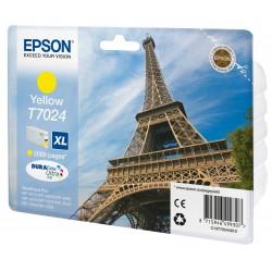 Epson - Eiffel Tower Cartucho T70244010 amarillo XL