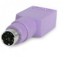 StarTechcom - Adaptador Teclado USB a conector PS/2 PS2 MiniDIN - Hembra USB - Macho Mini-DIN