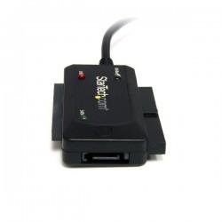 StarTechcom - Adaptador Combo SATA IDE a USB 20 para Disco Duro y SSD con Alimentacin - SATA - IDE - LP4 - USB A