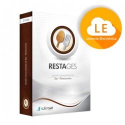 Solinsur - RESTAGES Software Gestion de Restaurantes y Bares Licencia Electronica