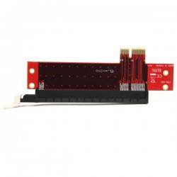 StarTechcom - Adaptador para Ranura de Extensin PCI Express x1 a x16 de Perfil Bajo