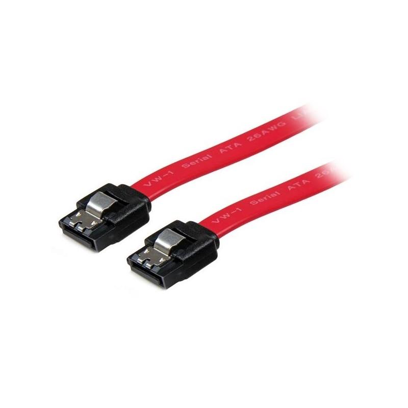 StarTechcom - Cable SATA con Cierre de Seguridad a SATA 8 pulgadas -H/H