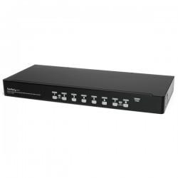 StarTechcom - Conmutador Switch KVM 1U OSD y Cables 8 puertos USB A Vdeo VGA HD15