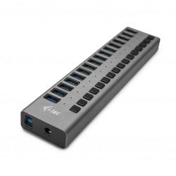 i-tec - USB 30 Charging HUB 16port  Power Adapter 90 W