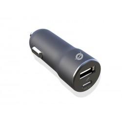 Conceptronic - ALTHEA03B cargador de dispositivo mvil Negro Auto