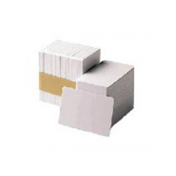 Zebra - Premier PVC Card 30 mil Low Coercivity Mag Stripe 5 packs x 100