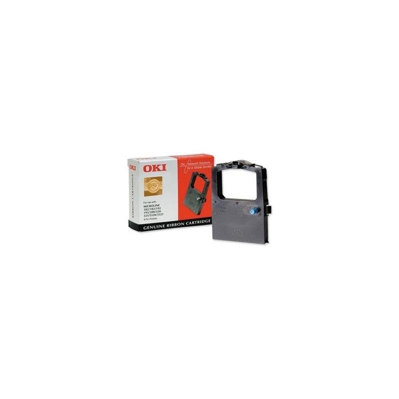 OKI - 09002303 cinta para impresora Negro