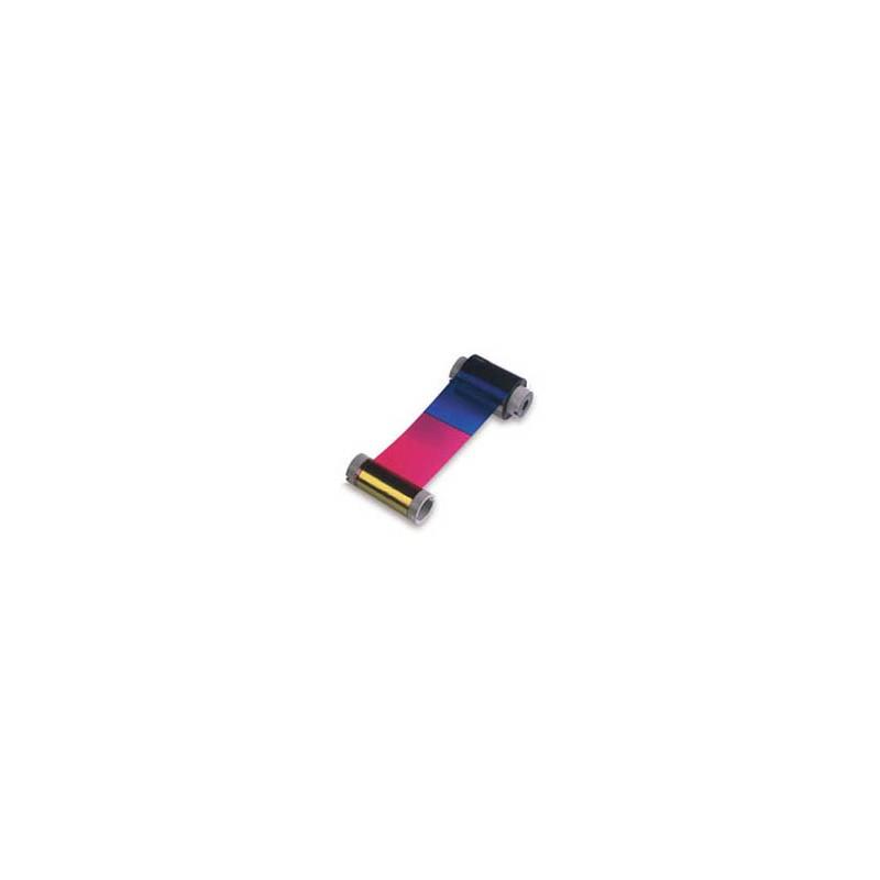 Zebra - True Colours i Series YMCK ribbon cinta para impresora