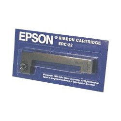 Epson - Cartucho ERC22B para las series M-180/190 larga duracin negro