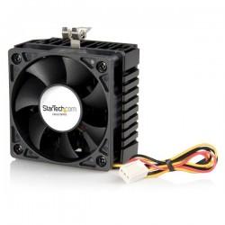 StarTechcom - Ventilador/Enfriador para CPU Socket 7/370 de 65x60x45mm c/ Disipador de Calor y Conector TX3