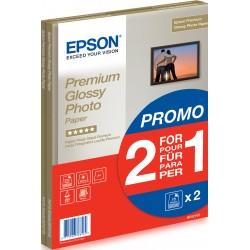 Epson - Premium Glossy Photo Paper - A4 - 2x 15 Hojas
