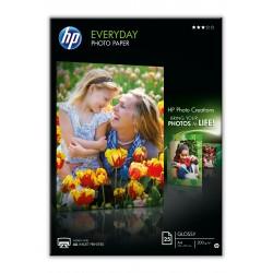 HP - Q5451A papel fotogrfico A4 Negro Azul Blanco Semi-brillo
