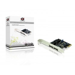 Conceptronic - CSATA600EXI tarjeta y adaptador de interfaz SATAeSATA Interno