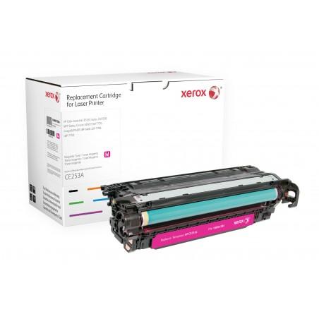 Xerox - Cartucho de tner magenta Equivalente a HP CE253A Compatible con HP Colour LaserJet CM3530 MFP Colour LaserJet CP3525