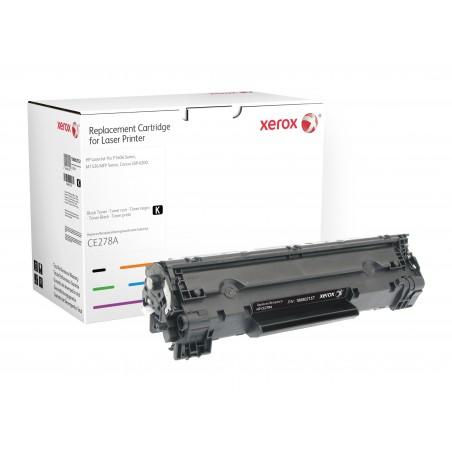 Xerox - Cartucho de tner negro Equivalente a HP CE278A Compatible con HP LaserJet M1536 MFP LaserJet P1566 LaserJet P1606