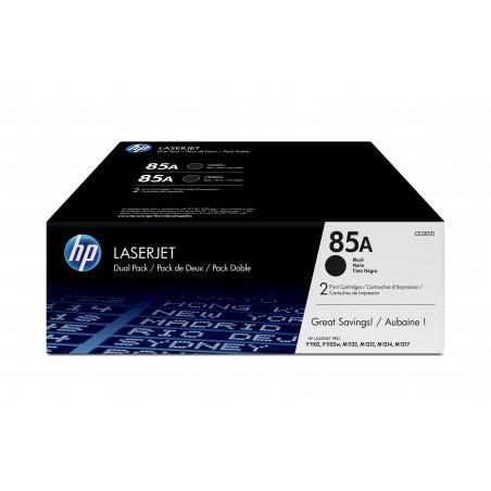 HP - 85A 2 piezas Original Negro