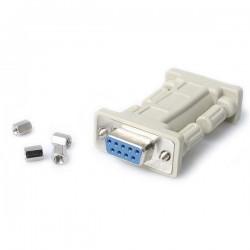 StarTechcom - Adaptador de Mdem Nulo Serie RS232 DB9- H/H