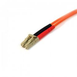 StarTechcom - Cable Patch de Fibra Duplex Multimodo 50/125 10m LC - LC