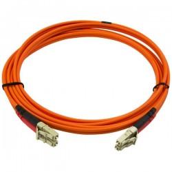 StarTechcom - Cable Patch de Fibra Duplex Multimodo 50/125 2m LC - LC