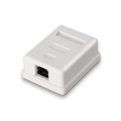 AISENS - A139-0303 caja de conexiones de red Cat6 Blanco