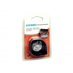 DYMO - S0721730 cinta para impresora de etiquetas Negro sobre metlico
