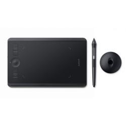 Wacom - Intuos Pro S tableta digitalizadora Negro 5080 lneas por pulgada 160 x 100 mm USB/Bluetooth