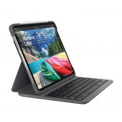 Logitech - SLIM FOLIO PRO teclado para mvil QWERTY Espaol Grafito Bluetooth - 920-009159