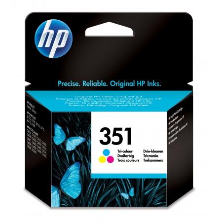 HP - 351 1 piezas Original Rendimiento estndar Cian Magenta Amarillo