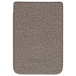 Pocketbook - WPUC-627-S-GY funda para libro electrnico Folio Marrn Gris 152 cm 6