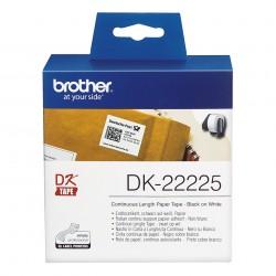 Brother - Cinta continua de papel trmico blanca - DK-22225