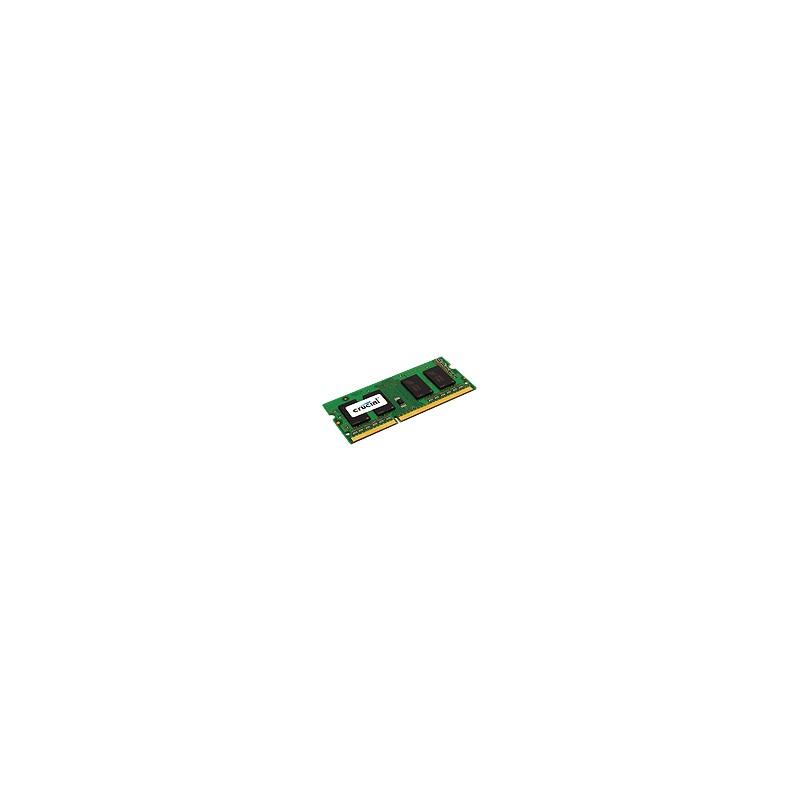 Crucial - 4GB mdulo de memoria 1 x 4 GB DDR3 1600 MHz