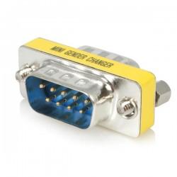 StarTechcom - Cambiador de Gnero DB9 Serie Slimline - M/M