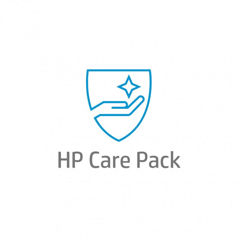HP - Asistencia solo para hardware de porttil al siguiente da laborable in situ de 4 aos - UK716E