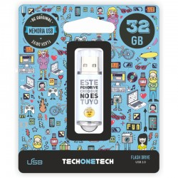 TECH1TECH - TEC4007-32 unidad flash USB 32 GB USB tipo A 20 Multicolor