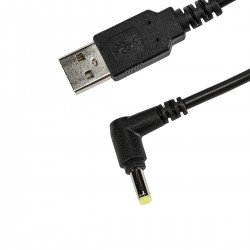 Socket Mobile - TO DC PLUG CHARGING CABLE 15M Negro 15 m USB A