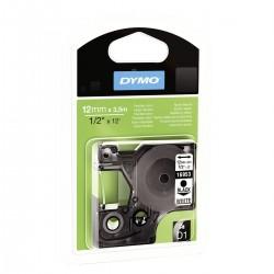 DYMO - D1 - Etiquetas Durable - Negro sobre blanco - 12mm x 55m - S0718040
