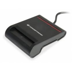 Conceptronic - SCR01B lector de tarjeta inteligente USB 20 Negro